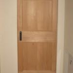 Porta in legno Abete Massiccio al grezzo
