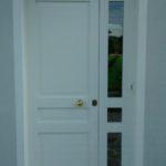 portone ingresso in legno