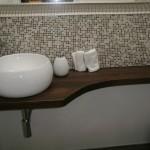 mensola da bagno castagno spazzolato tinto 2